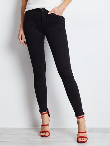 Czarne jeansy Carbon
