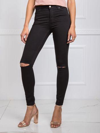 Czarne jeansy Charlie RUE PARIS