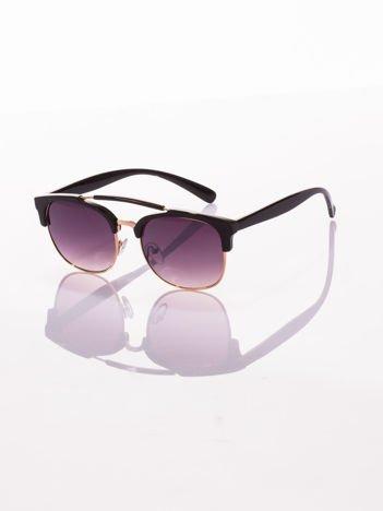 Czarne klasyczne okulary dla kobiet i mężczyzn