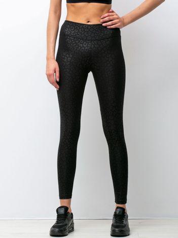 Czarne legginsy Ready