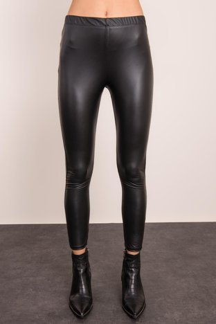 Czarne legginsy damskie BSL