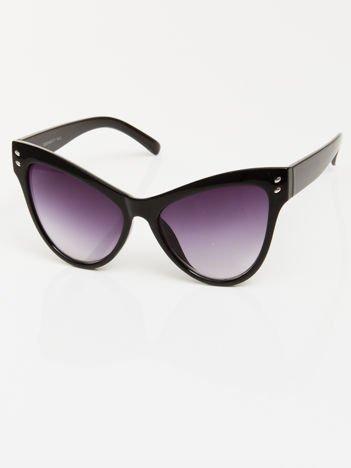 Czarne przeciwsłoneczne okulary damskie CAT ELEGANT