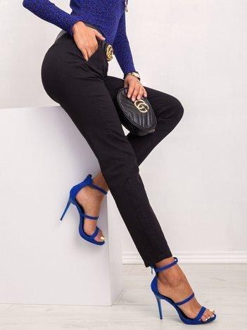 Czarne spodnie Chills