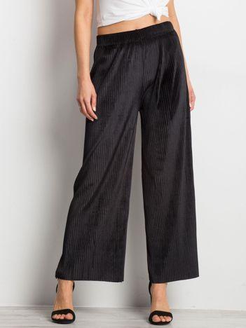 Czarne spodnie Continuum