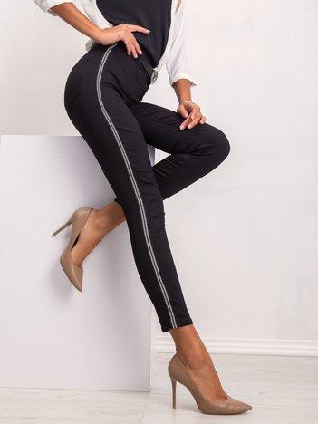 Czarne spodnie Jaymie