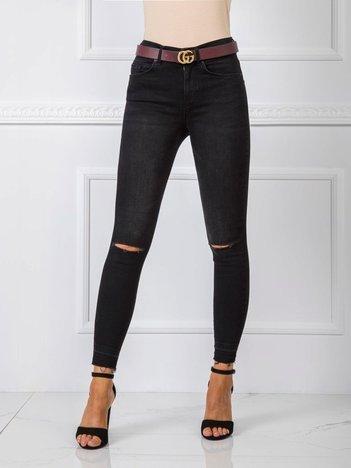 Czarne spodnie Jenna RUE PARIS