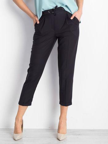 Czarne spodnie Lawsuit