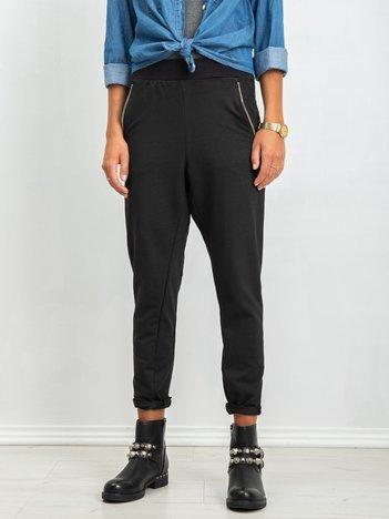 Czarne spodnie Lights