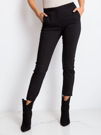 Czarne spodnie Mind