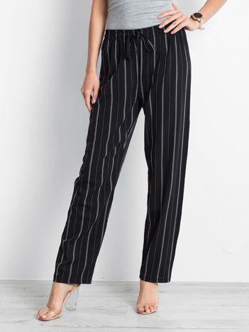 Czarne spodnie Rediscover