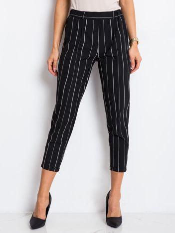 Czarne spodnie Valentina