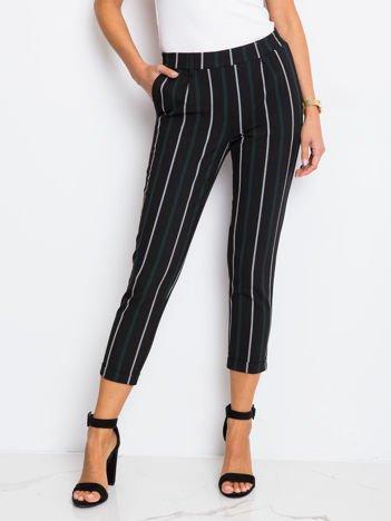 Czarne spodnie Worth