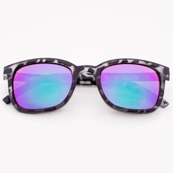 Czarno-Białe Okulary Przeciwsłoneczne Lustrzanki