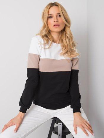 Czarno-beżowa bluza Larice RUE PARIS