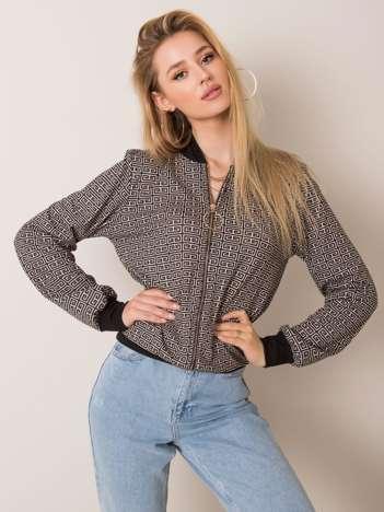 Czarno-beżowa bluza Olena