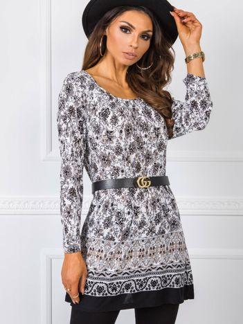 Czarno-biała bluzka Sarah RUE PARIS
