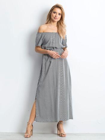 Czarno-biała sukienka Sentimental