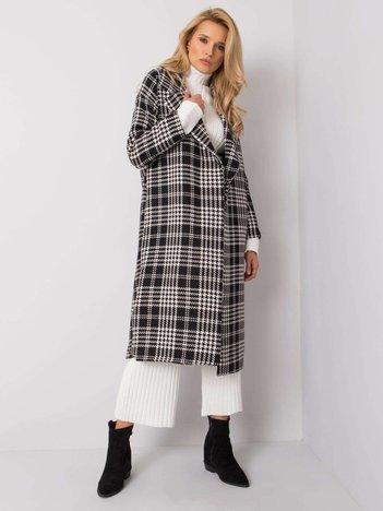 Czarno-biały płaszcz Pilar RUE PARIS