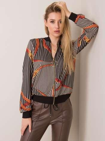 Czarno-brązowa bluza Avril