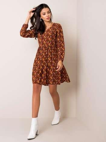 Czarno-brązowa sukienka Sammie SUBLEVEL