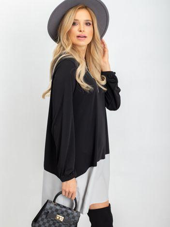 Czarno-szara sukienka Underground