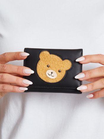 Czarny mały portfel