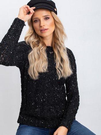 Czarny sweter Attractive