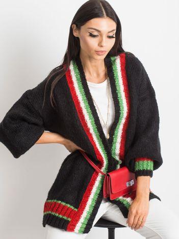 Czarny sweter Lavish