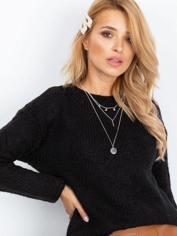 Czarny sweter Tiffany