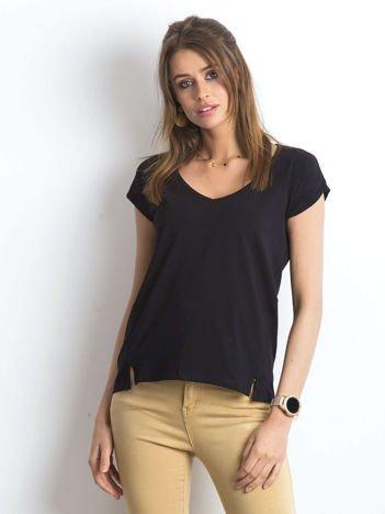 Czarny t-shirt Vibes