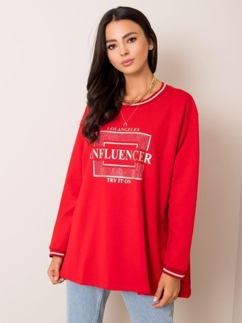 Czerwona bluza Dorianna