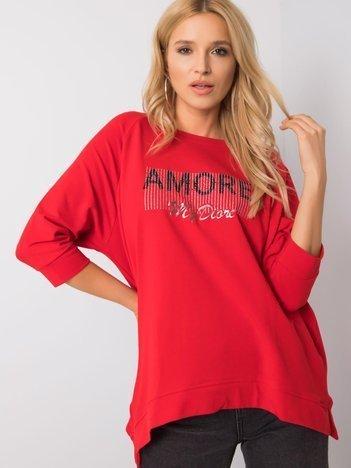 Czerwona bluza Lanna