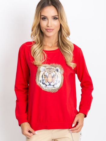Czerwona bluza Palma