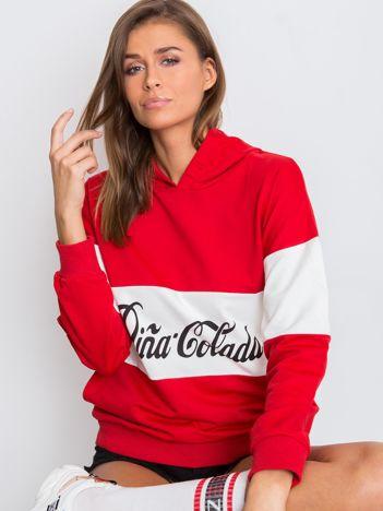 Czerwona bluza Pina