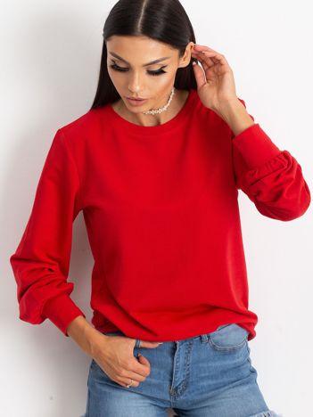 Czerwona bluza Promise