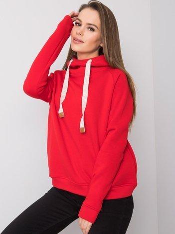 Czerwona bluza Vanessa FOR FITNESS