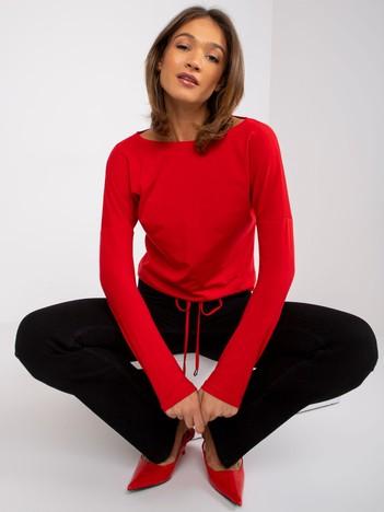 Czerwona bluzka Carla