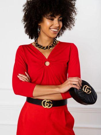 Czerwona bluzka Penny