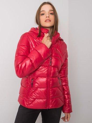 Czerwona kurtka pikowana Ashlyn