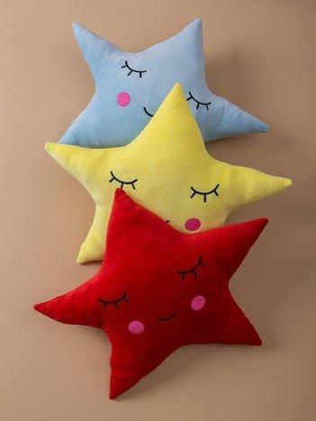 Czerwona poduszka Gwiazda