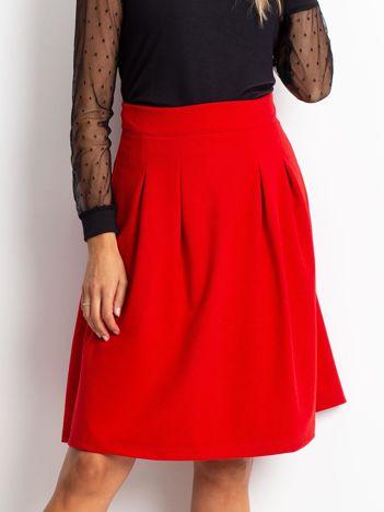 Czerwona spódnica Gemini