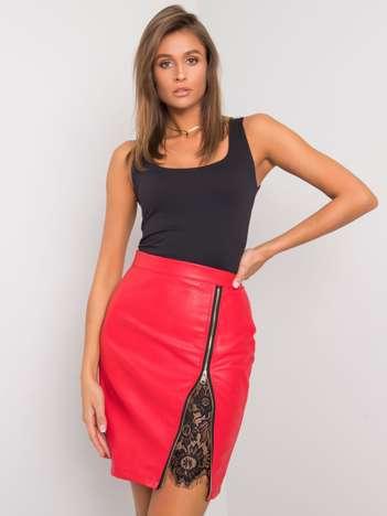 Czerwona spódnica Lacey