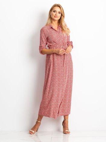 Czerwona sukienka Daily