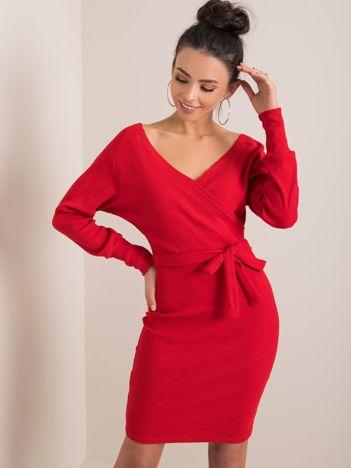 Czerwona sukienka Dolce RUE PARIS