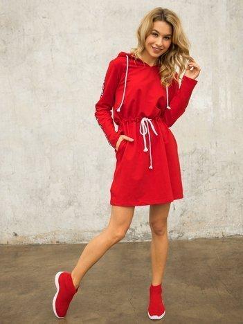 Czerwona sukienka Muse