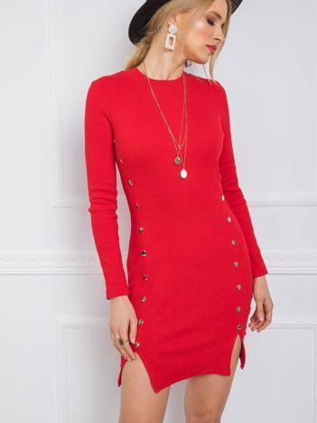 Czerwona sukienka Rita RUE PARIS