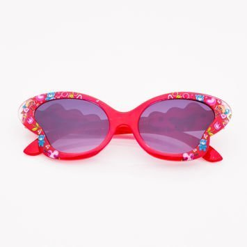 Czerwone Dziecięce Okulary przeciwsłoneczne MOTYL