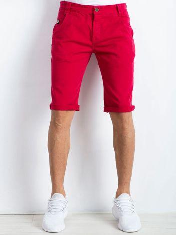 Czerwone spodenki męskie Seeing