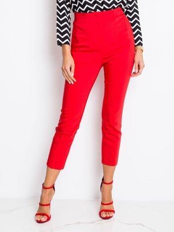 Czerwone spodnie Apple