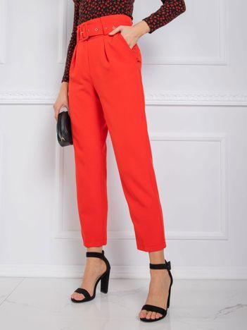 Czerwone spodnie Bauve RUE PARIS